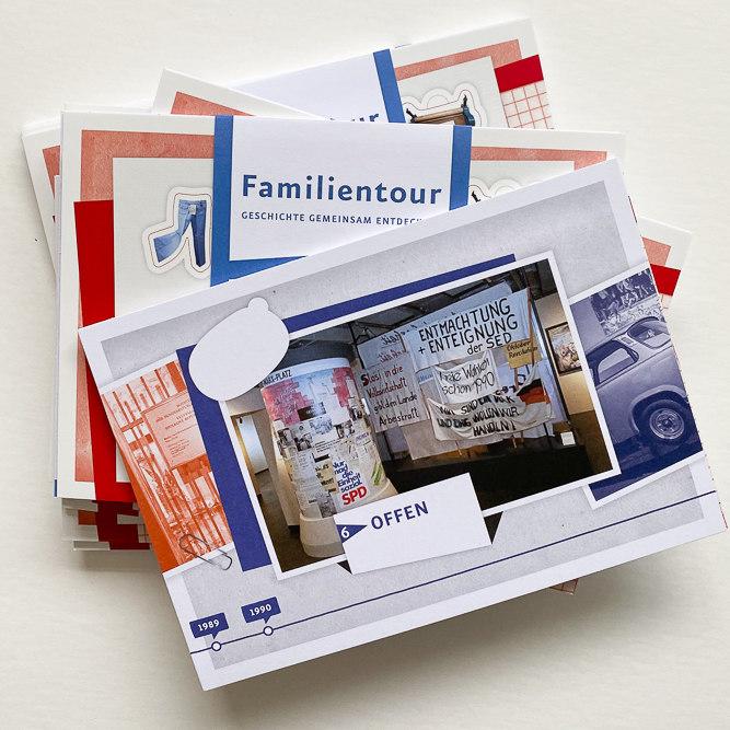 3 Kartensets der ZFL Familientour