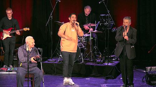 Metin Türköz, Eko Fresh, Nedim Hazar bei einem Auftritt in Köln, (c) Hakan Güzey