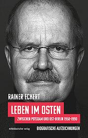 """Buchcover zu """"Leben im Osten"""", © Mitteldeutscher Verlag"""