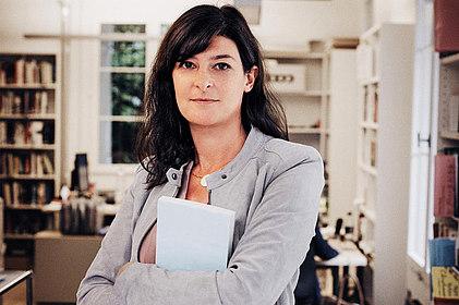 Portraitfoto Heike Specht, (c) Gianmarco Castelberg / Piper Verlag