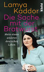 """Buchcover """"Die Sache mit der Bratwurst"""""""