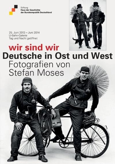 Ausstellungsplakat wir sind wir - Deutsche in Ost und West