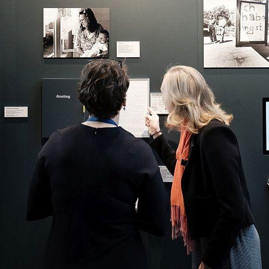 Die Angst vor Zuwanderung ist einer der vier behandelten Themenbereiche der Ausstellung.