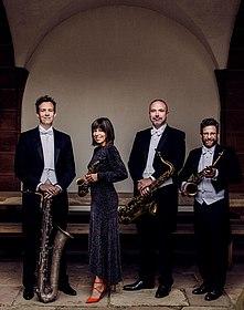 Foto Raschèr Saxophone Quartet, (c) Beethoven-Orchester Bonn