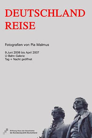 Ausstellungsplakat Deutschland Reise