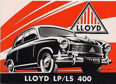 Prospekt Lloyd LP/LS 400 1954, Stiftung Haus der Geschichte der Bundesrepublik Deutschland