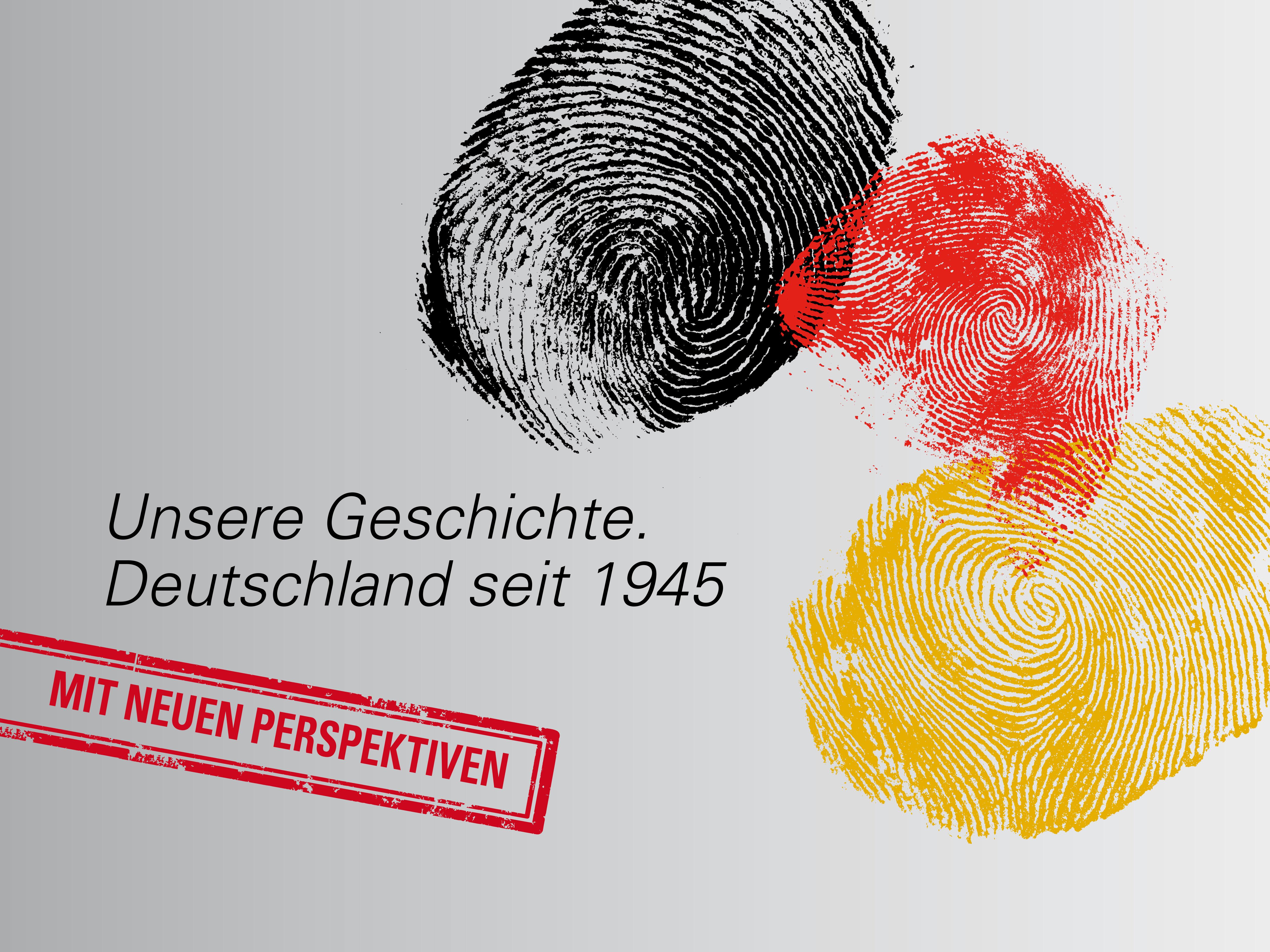 Plakat Dauer-Ausstellung Haus der Geschichte Bonn