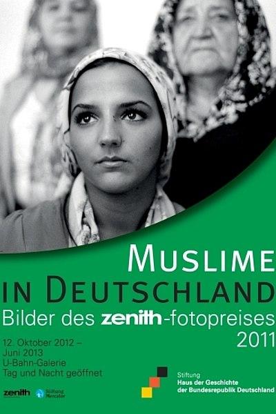 Ausstellungsplakat Muslime in Deuschland