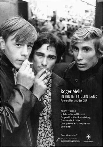 Ausstellungsplakat Roger Melis - In einem stillen Land. Fotografien aus der DDR