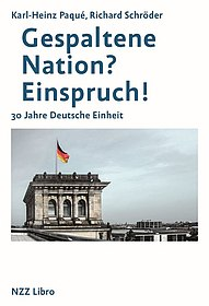 Buchcover 'Gespaltene Nation? Einspruch!'