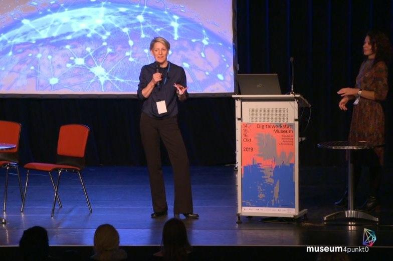 Dr. Ruth Rosenberger, Direktorin Digitale Dienste