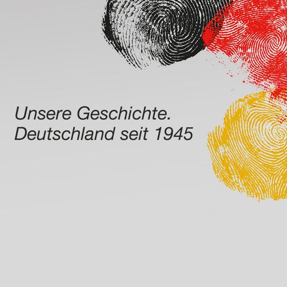Logo der Dauerausstellung im Haus der Geschichte