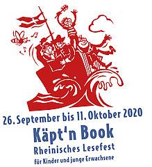 Logo Käpt'n Book Lesefest 2020