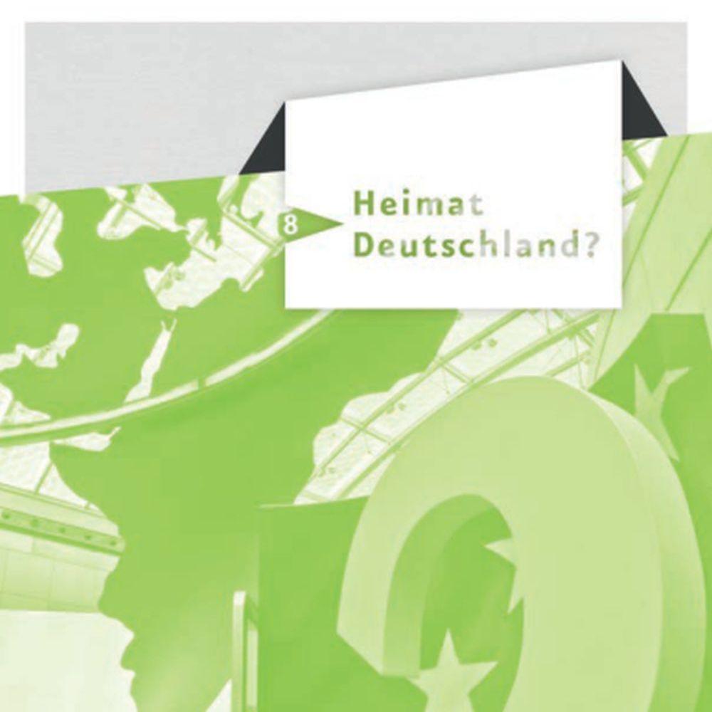 Die Seite 'Heimat Deutschland?' aus dem Spurensuche-Block