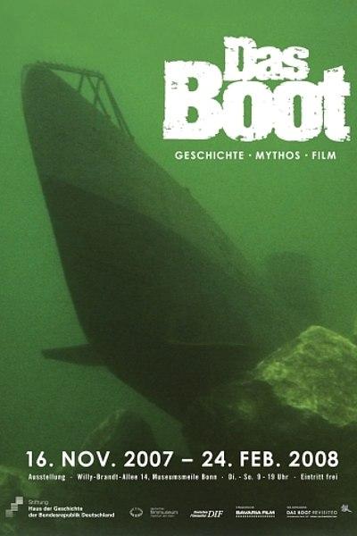 Ausstellungsplakat Das Boot - Geschichte. Mythos. Film