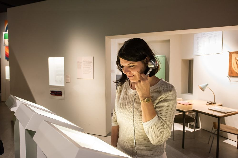 Listen to our audio guide in the exhibition