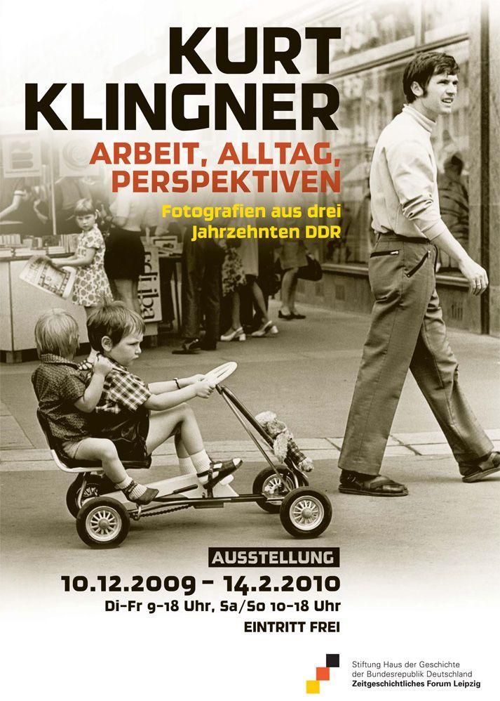 Ausstellungsplakat Kurt Klingner: Arbeit, Alltag, Perspektiven