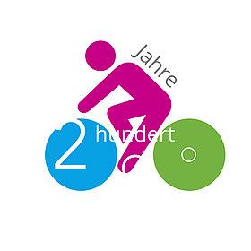 """Logo """"200 Jahre Fahrrad"""""""