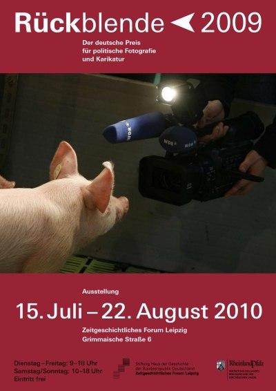 Ausstellungsplakat Rückblende 2009