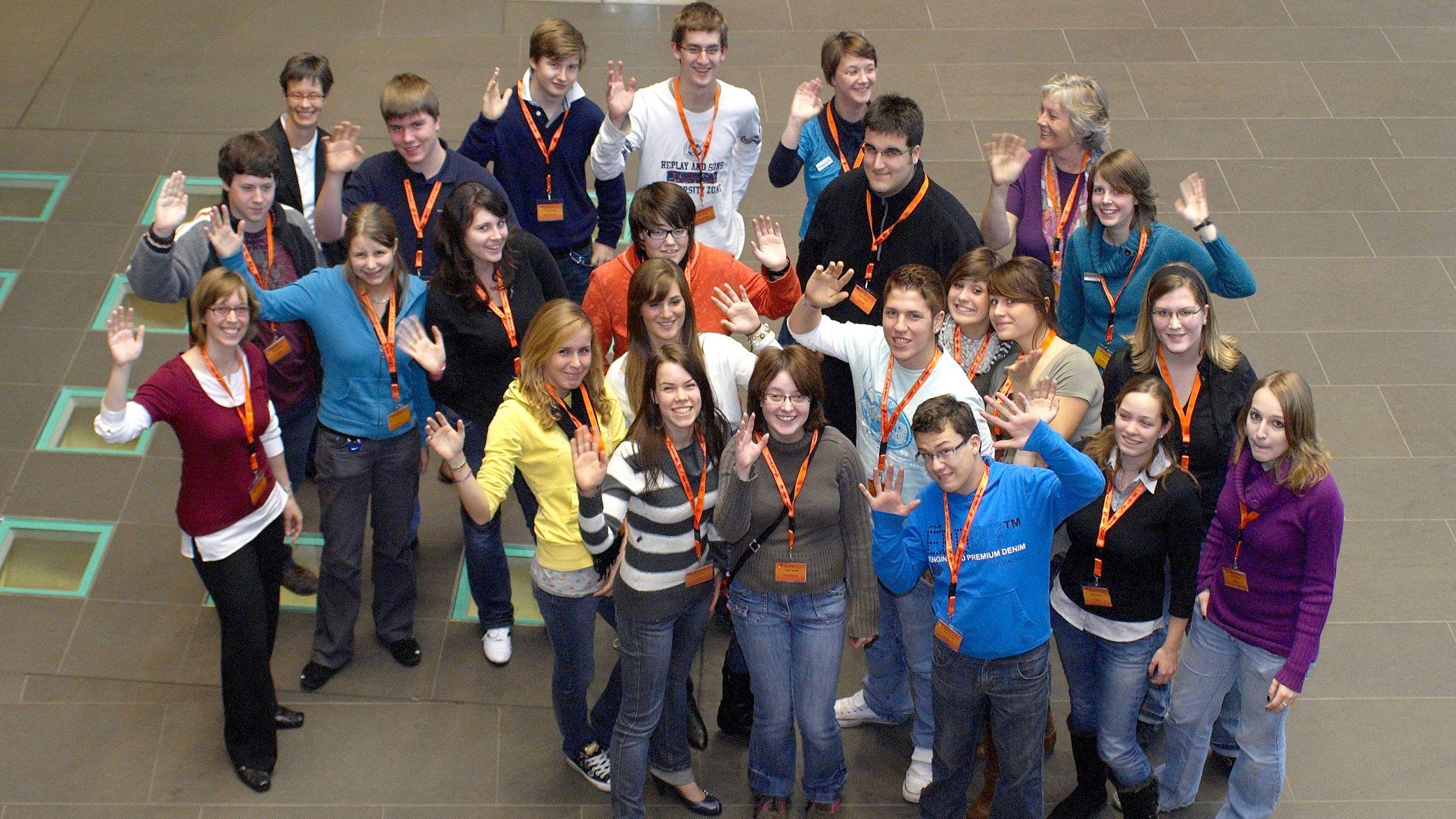 Gruppenfoto der TeenGroup 2008/2009