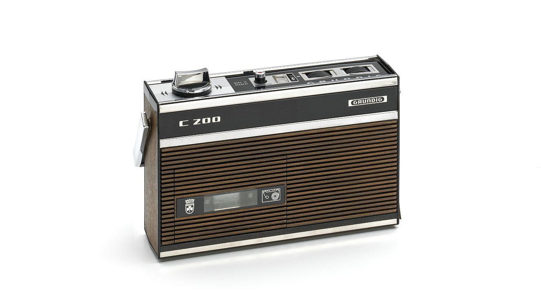 Kassettenrekorder Grundig C 200 von 1967