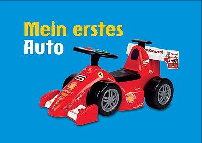 Postkarte Mein erstes Auto, Stiftung Haus der Geschichte der Bundesrepublik Deutschland