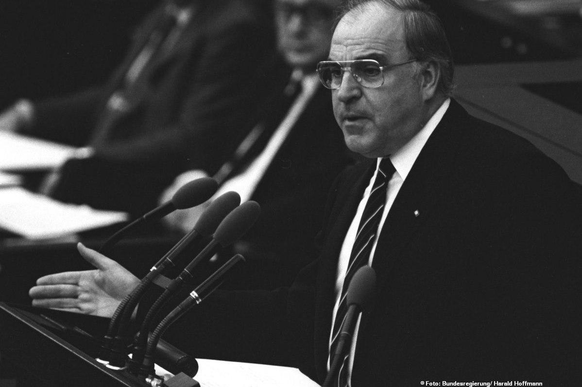 1. Regierungserklärung von Bundeskanzler Kohl 1982