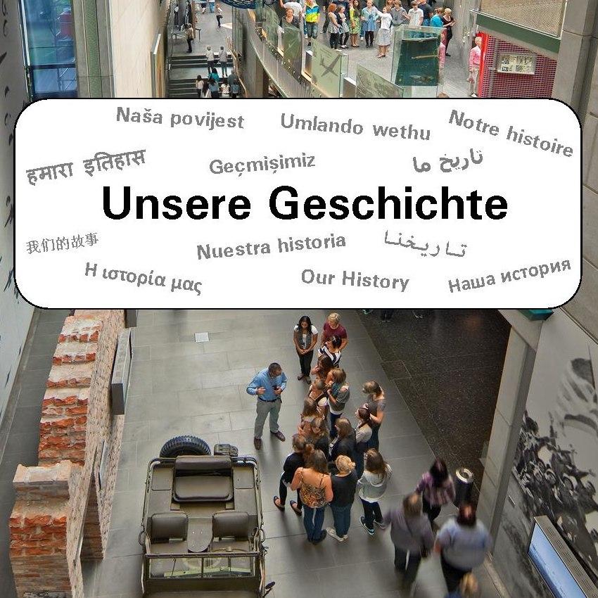 Cover des Heftes 'Unsere Geschichte'
