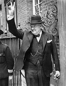Foto Winston Churchill 1943