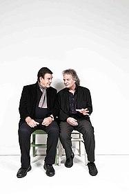 Foto: Rolf und Joachim Kühn, (c) Jens Herrndorf