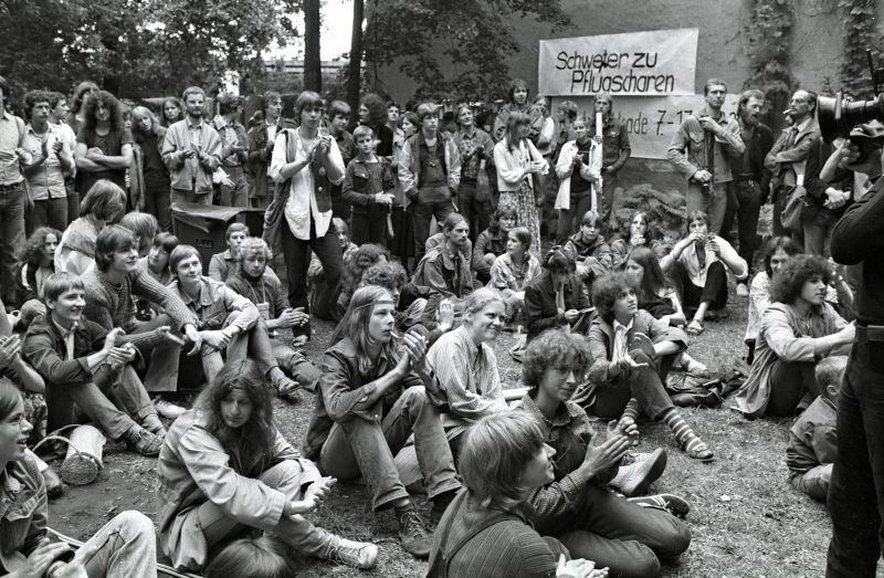 Fotografie 'Friedenswerkstatt 1982'