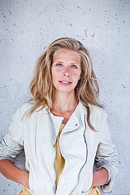 Moderatorin Greta Taubert
