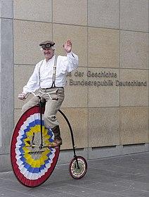 Foto Hochradfahrer