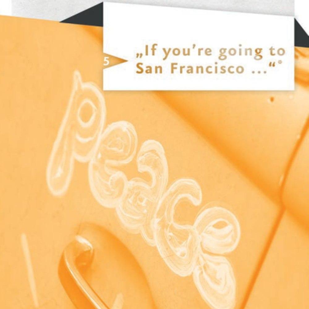 Spurensuche mit Zitat aus San Francisco