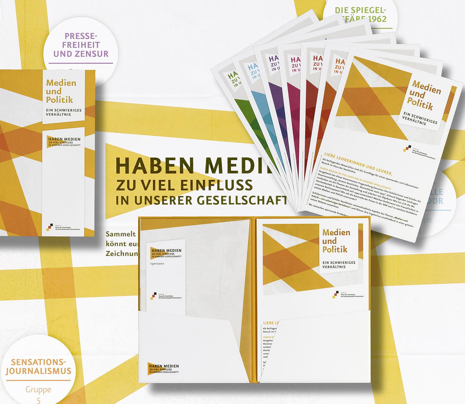 Themenmappe 'Medien und Politik. Ein schwieriges Verhältnis'
