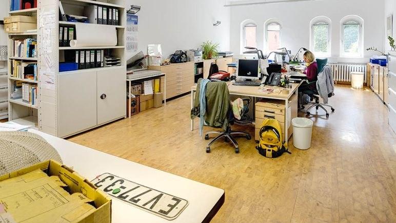 Büro in Berlin mit Autokennzeichnen