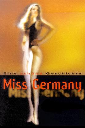 Plakat zu der Wechselausstellung 'Miss Germany - eine schöne Geschichte' aus dem Jahr 2000