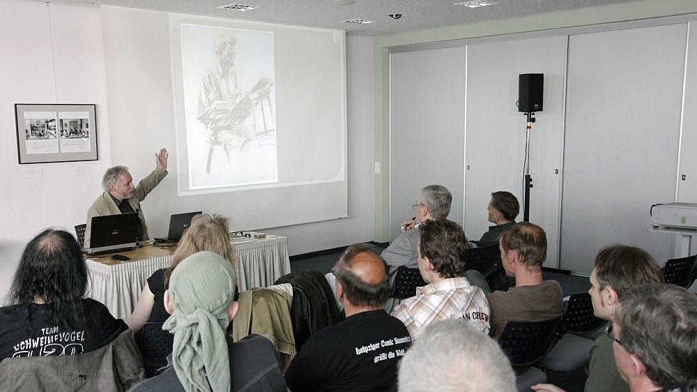 Seminarraum mit Workshopteilnehmern