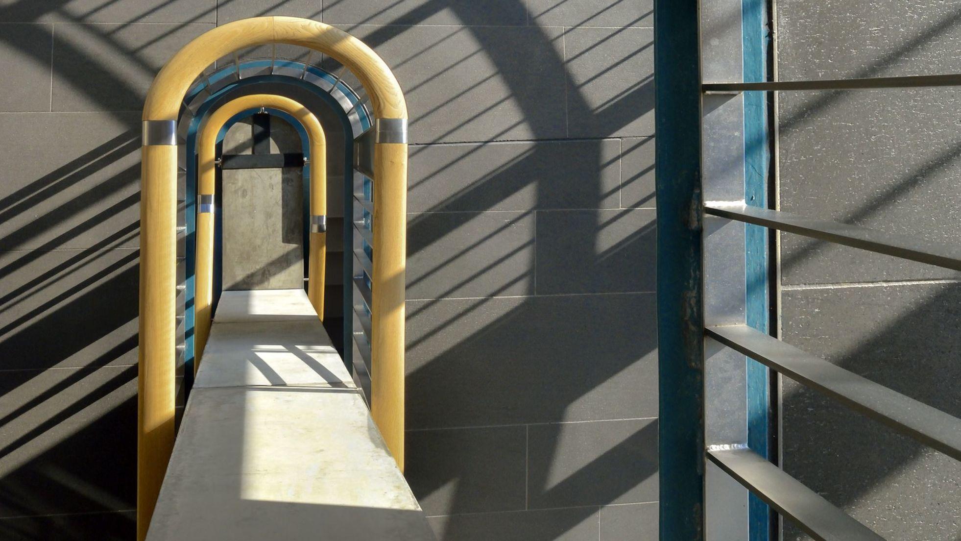 Architekturelement im Foyer der Stiftung Haus der Geschichte