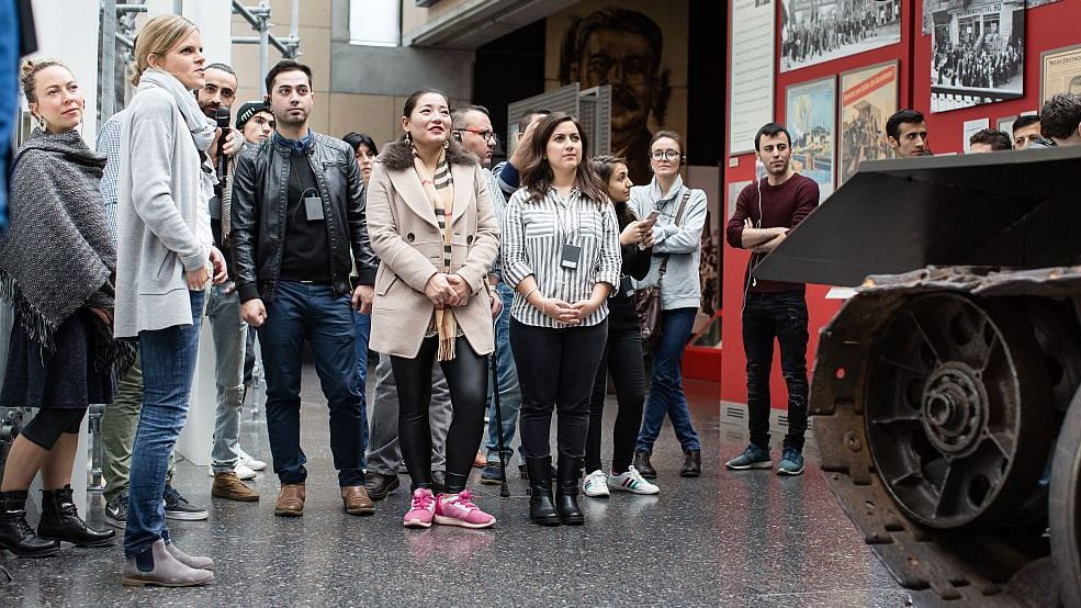 Foreign-language guided visits at Haus der Geschichte