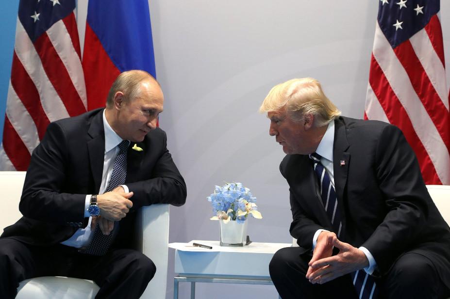 Putin und Trump im Kreml