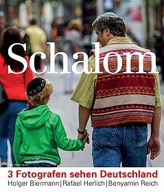 Plakat der Ausstellung Schalom
