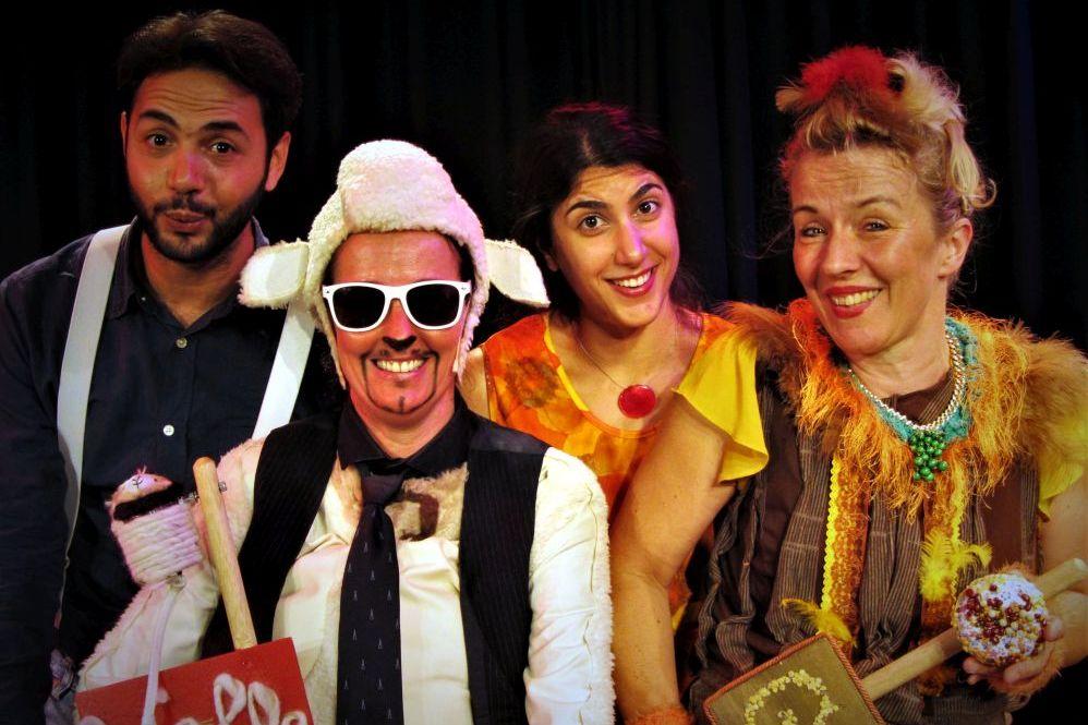 """Theaterstück """"Wolle und Gack"""", Musiktheater Lupe"""