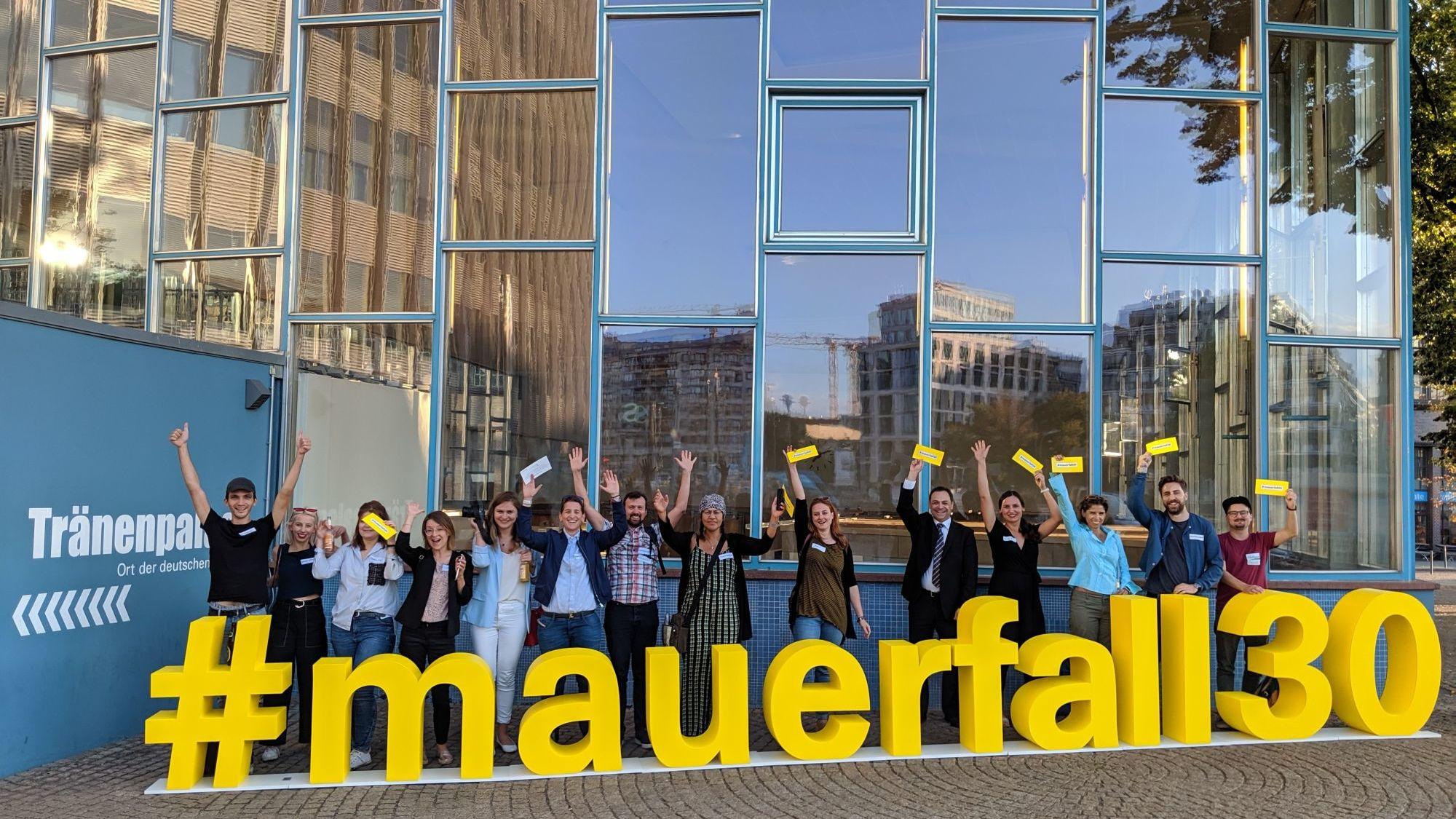 Social-Media MeetUp im Tränenpalast