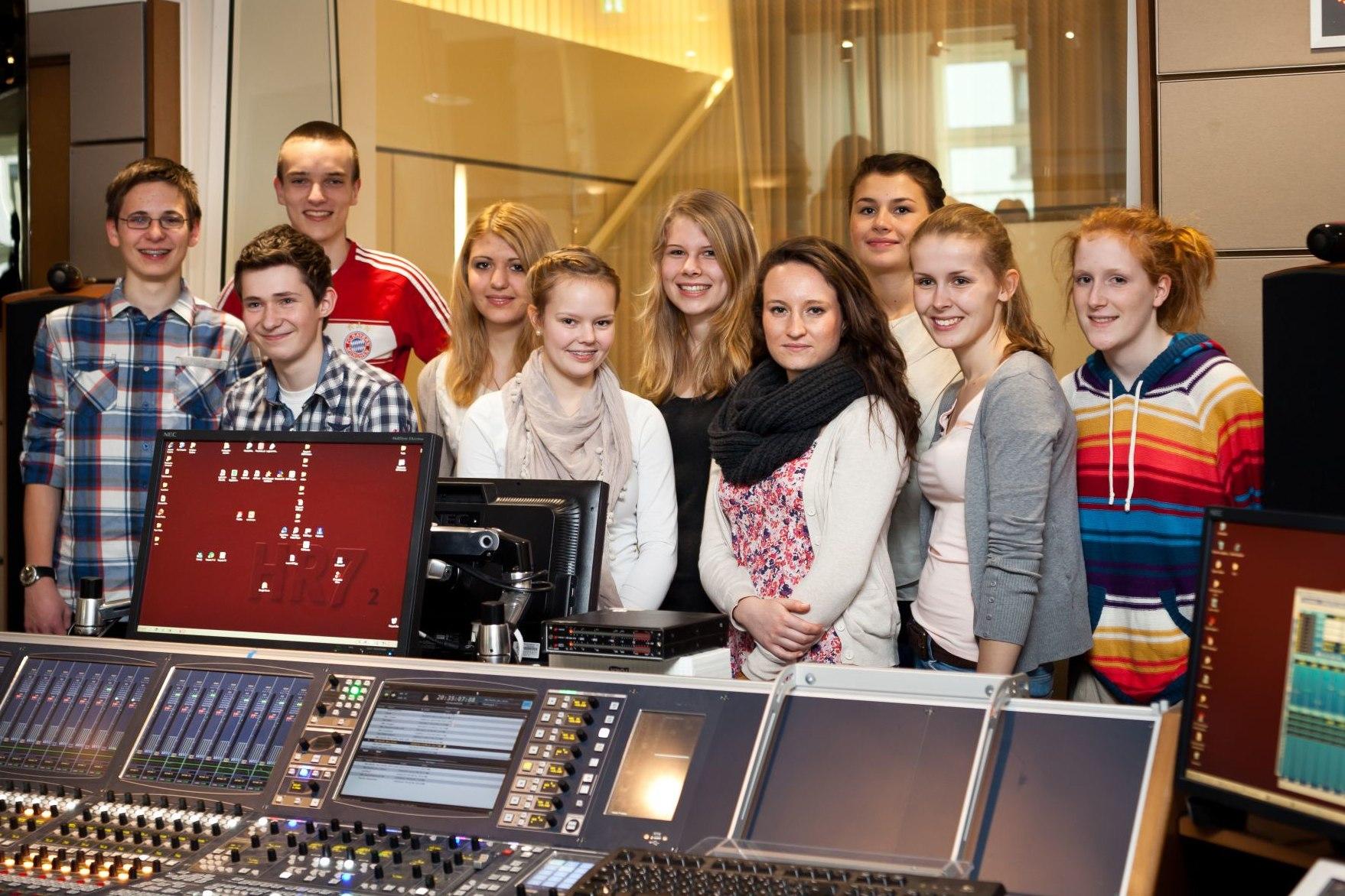 TeenGroup 2011/2012 im Tonstudio