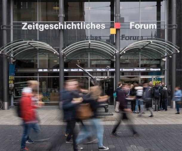 Außenansicht des Zeitgeschichtlichen Forums Leipzig
