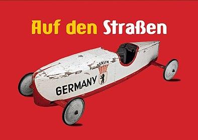 Postkarte Auf den Straßen, Stiftung Haus der Geschichte der Bundesrepublik Deutschland