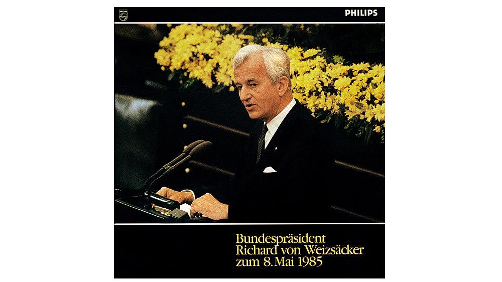 Cover: 'Bundespräsident Richard von Weizsäcker zum 8. Mai 1985'
