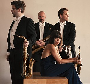 Raschér Saxophone Quartet, (c) Beethoven-Orchester Bonn
