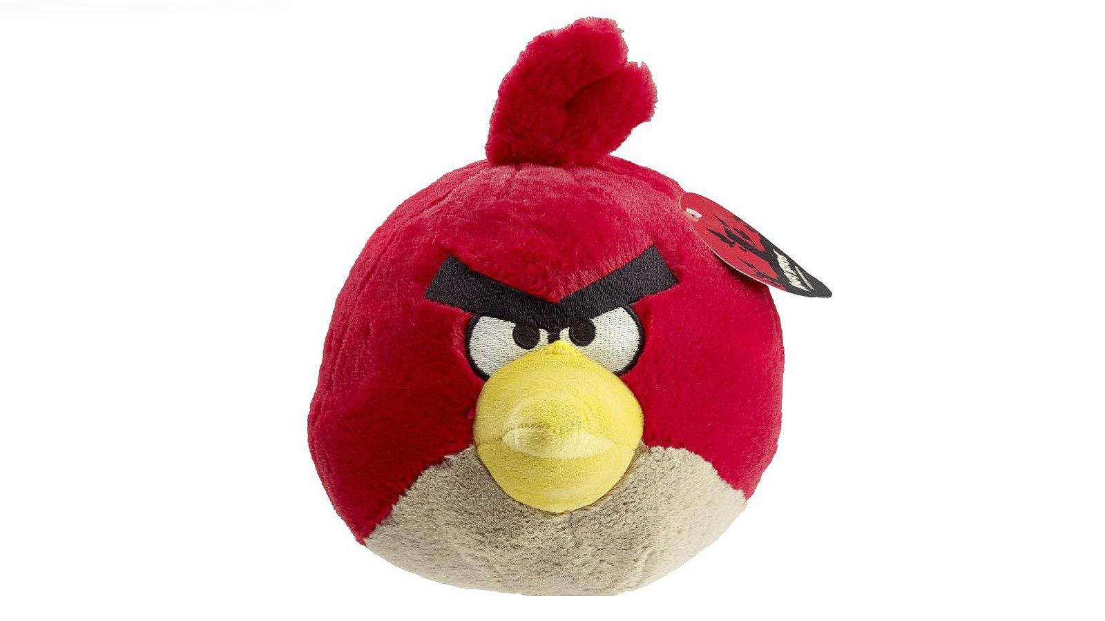 Stuffed animal: Angry Bird, 2014